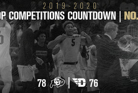 Top Competitions Countdown: No. 2, Men's Basketball Shocks Dayton At The Buzzer