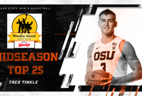 Tres Tinkle Named To Wooden Award Midseason Top 25