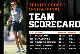 Beavers In Fifth Place Through 36 Holes In Dallas