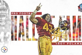 Former Trojan Troy Polamalu Voted Into Pro Football Hall Of Fame