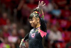Tessen's 10.0 On Vault Highlights No. 4 Utah's 197.750-196.725 Win Over Stanford