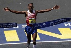 UCLA Great Meb Keflezighi Wins the Boston Marathon