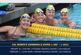 LA-Bound Bears Visit USC, UCLA