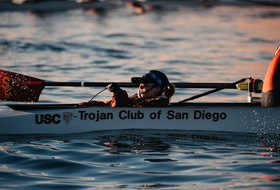 USC Women's Rowing Advances All Three Boats to Grand Finals in San Diego Crew Classic