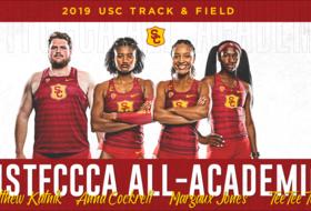 Four Trojans Earn USTFCCCA All-Academic Honors