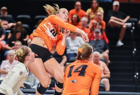 Beavers Knock Off No. 23 San Diego in Five