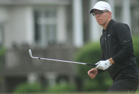 Men's Golfers Slip Into A Tie For Fourth At Bandon Dunes Championship