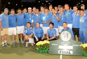 No. 5 UCLA Upsets Top-Ranked USC, 4-2 in Pac-12 Men's Tennis Final