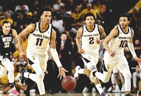 @SunDevilHoops Tops Washington State 83-74 To Clinch Third Seed at Pac-12 Tournament