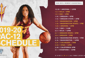 @SunDevilWBB Will Have 20 Games Televised by Pac-12 Networks in 2019-20