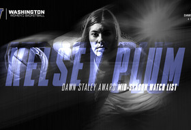 Plum Selected To Dawn Staley Mid-Season Watch List