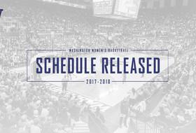 Washington Announces 2017-18 Schedule