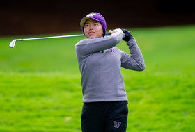 Huskies In Second After Opening Round of Edean Ihlanfeldt Invitational
