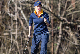 Cal Sits Fifth After Peg Barnard First Round
