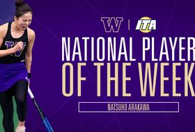 Natsuho Arakawa Named ITA DI and Pac-12 Player of the Week