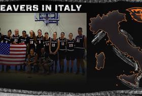 Beavers in Italy Day 3: Beavs Win!