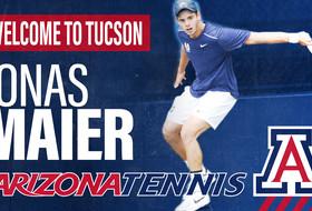 Arizona Men's Tennis Adds Transfer Student Jonas Maier