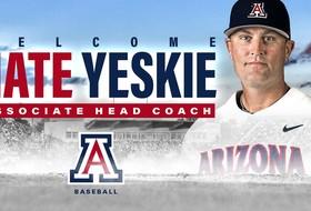 Nate Yeskie Joins Arizona Baseball Staff as Associate Head Coach