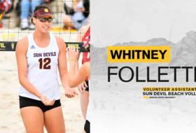 Whitney Follette Joins No. 20 @SunDevilBeachVB Staff