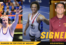 Top-20 @ASUWrestling Adds Three to Incoming Roster