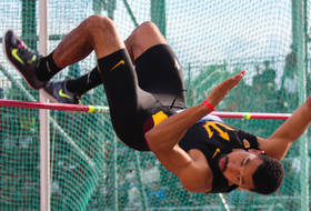 T&F's McBride Matches High Jump PR At USATF Championships
