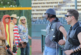 Baseball's Annual Halloween Costume Practice To Be Held Oct. 30 At Packard Stadium