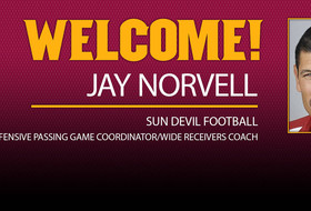 Norvell Joins Football Staff As Wide Receivers Coach