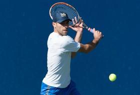 No. 14 Men's Tennis Suffers 4-1 Loss at No. 5 USC