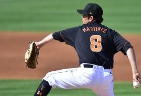 Martinez, Baseball Shut Out NMSU, 2-0