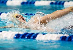 Cal Men S&D in Second After First Day of NCAA Meet