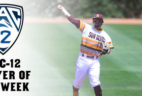 Baseball's Stankiewicz Nets Pac-12 Player Of The Week Honors
