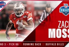 Zack Moss Draft By Buffalo Bills In Third Round