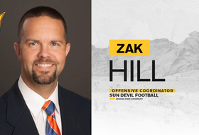 Sun Devil Football Names Zak Hill as Offensive Coordinator, Hagan and Gill Assistant Coaches
