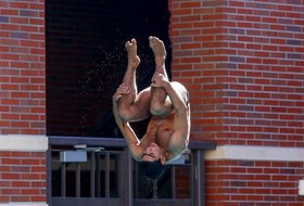 Three Divers Finish in Top-Eight at Texas Diving Invite
