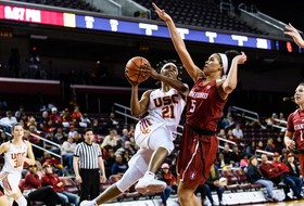 Stanford Fights Back To Beat USC 59-55 At Galen Center