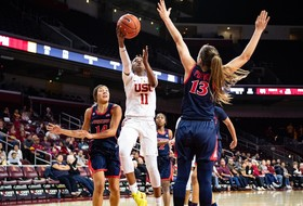 USC Women Edged Out At The Line By No. 18 Arizona