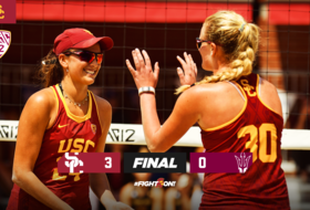 USC Moves Into Winner's Final on 3-0 Win Over Arizona State