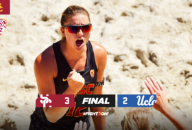 No. 2 USC Beach Takes Down No. 1 UCLA to Advance to Pac-12 Title Match