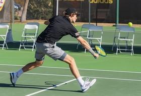 Men's Tennis' Comeback Falls Short in Loss to #14 OK State