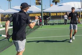 Men's Tennis Drops Top-15 Bout