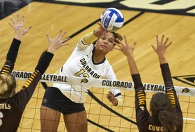 Parker Named Volleyballmag.com Freshman All-America Honorable Mention