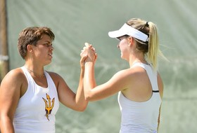 #19 Sun Devils Sweep Oregon 4-0 in First Pac-12 Match