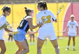Clayton Reaches 100 Goal Milestone in Lacrosse's Win over Fresno State