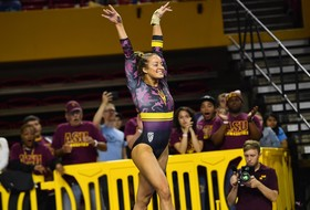 @SunDevilGym Beats No. 24 Arizona For Fourth Year In A Row