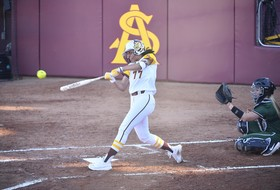 It's Going, Going, Gone! Softball Sweeps on Opening Day