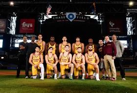 ASU Wrestling Hosts First Collegiate Wrestling Match at MLB Ballpark this Saturday