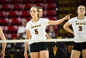 Unzue Has Career Night; @SunDevilVB Falls to No. 15 USC in Four