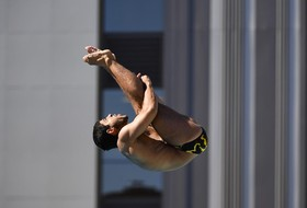 Selim Qualifies for Third Diving Event in Three Days