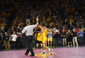 No. 4 @ASUWrestling Travels to Columbus for a Meeting with the Buckeyes on FS1