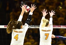 Oregon Schools Await @SunDevilVB This Weekend